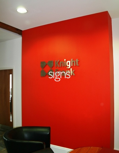 Knight Frank Built up Letter Signage