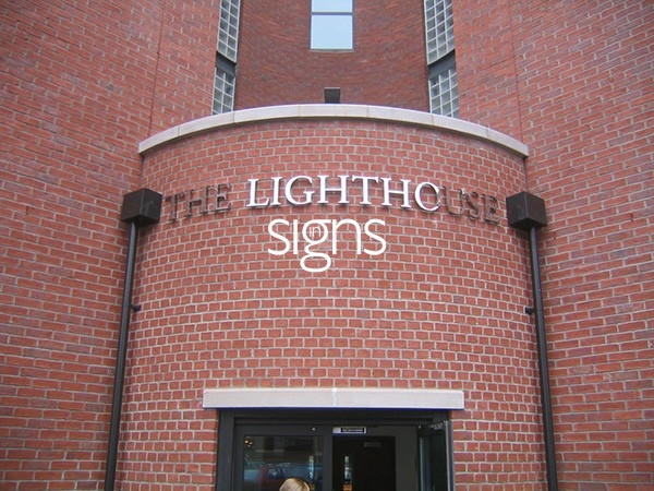 The Lighthouse Built up Letter Signage