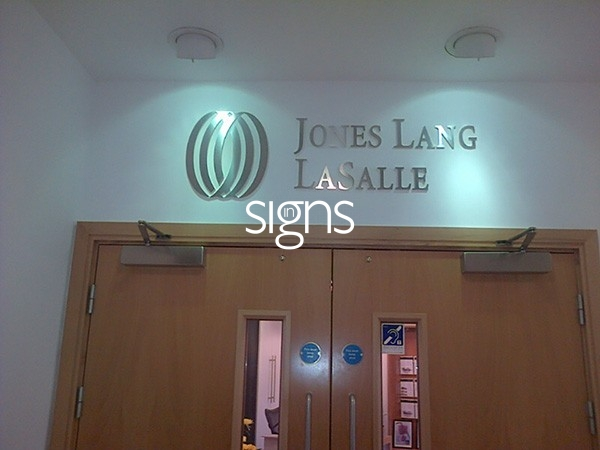 Jones Lang LaSalle Built up Letter Signage