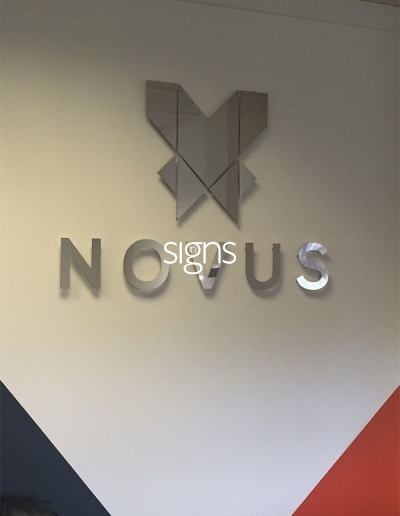 Novus Built up Letter Signage