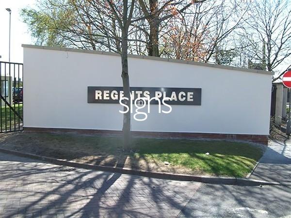 Regents Place 3D Signage