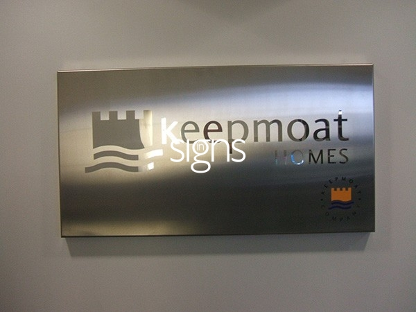 Keepmoat Homes Built up Letter Signage