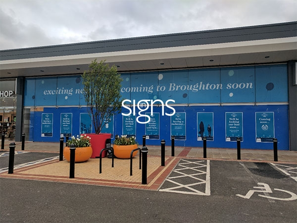 Broughton Leisure Centre Signs