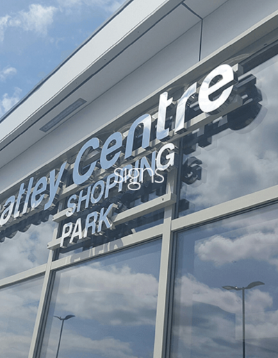 Wheatley Centre Shopping Park Signs