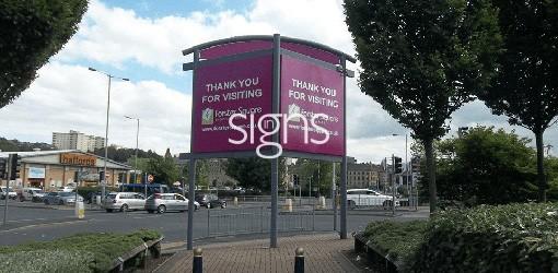 Totem Signs