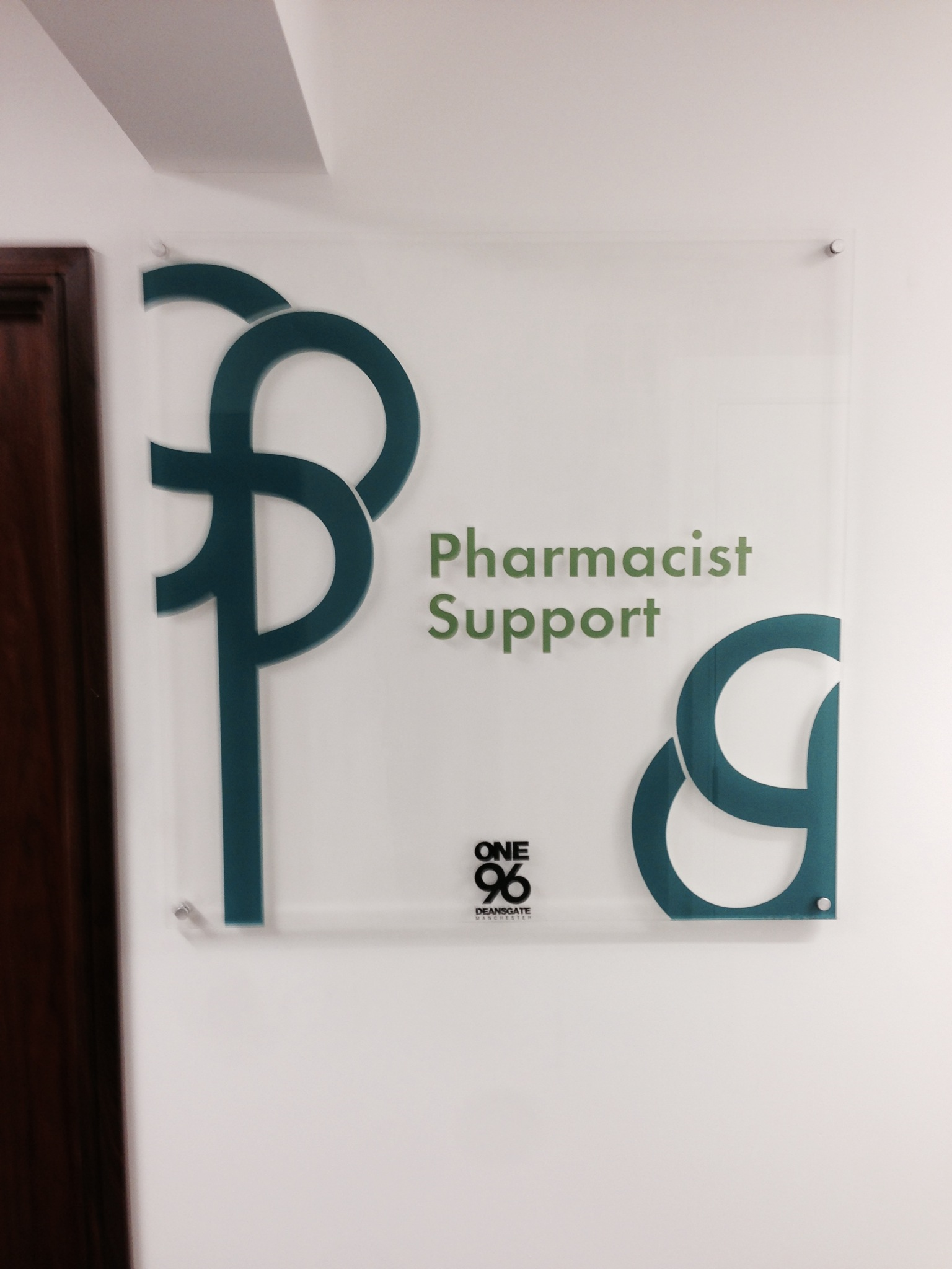 Pharmacist Support Acrylic Directories for Receptions