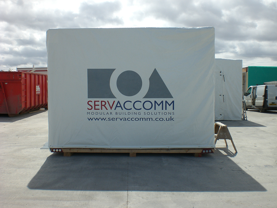Servaccomm Construction Site Banners