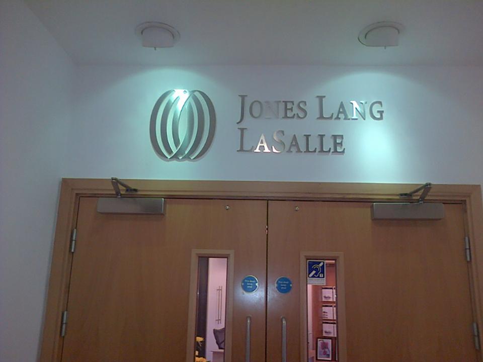 Jones Lang LaSalle Built up Letter Signage