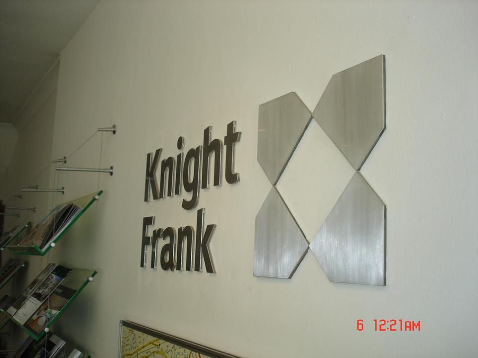 Knight Frank Built up Letter Signage