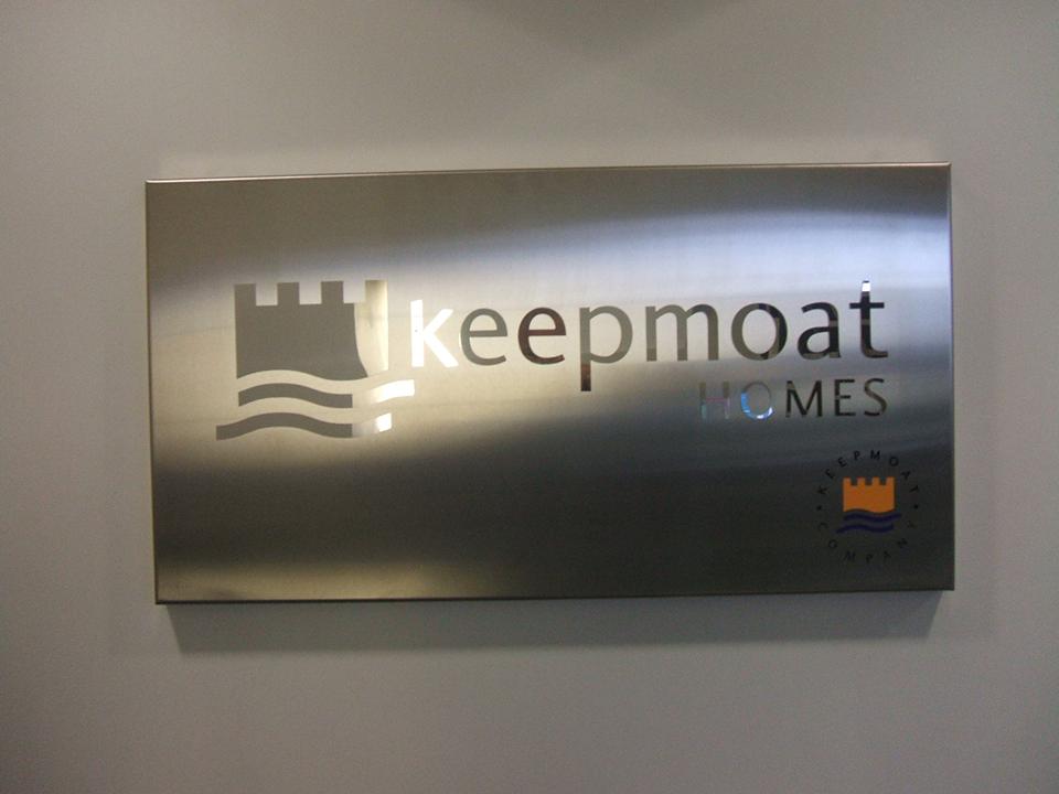 Keepmoat Homes Built up Letter Signage
