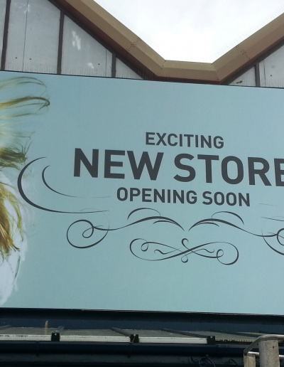 New Store Opening Soon Retail Sign