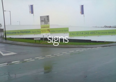 Welcome to Horizon Construction Hoarding Panels