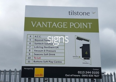 Vantage Point Sign Post