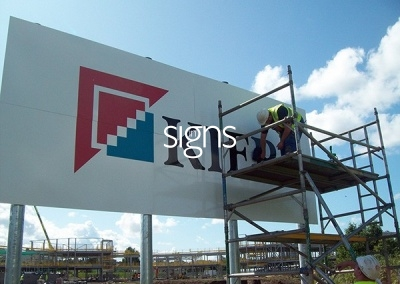 Setting up a Sign Post