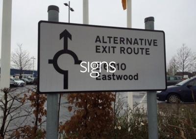 Road Sign Post