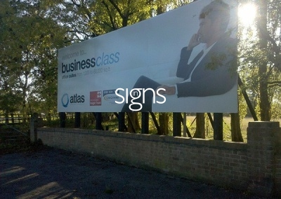 Business Office Suites Sign Post