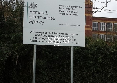 Chorley Community Housing Sign Post