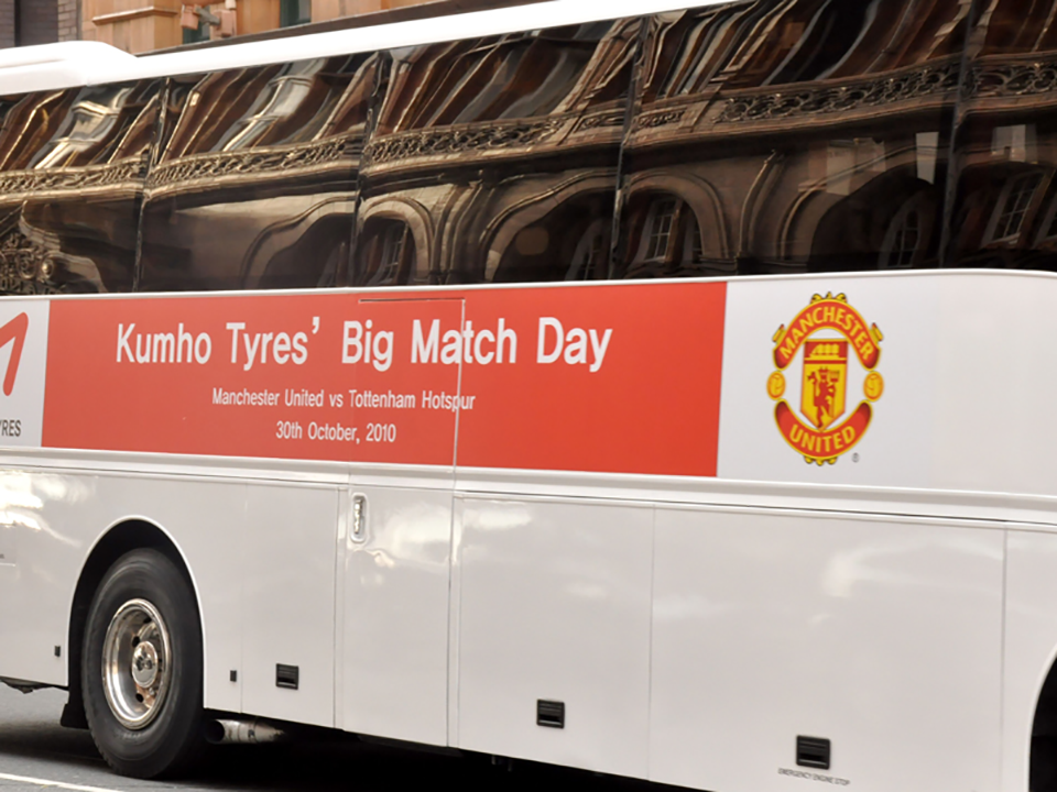 Big Match Day Signage for Vehicles