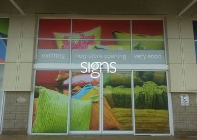 New Store Opening Soon Window Vinyl Signs