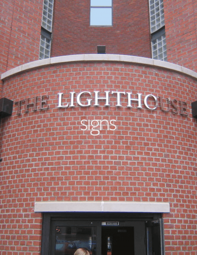 The Lighthouse Office Signs
