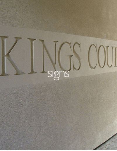 Kings Court Hotel Signage