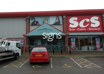 ScS Flex Face Store Sign